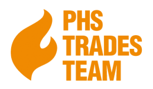 PHS Trades Team Property Heating Solutions Logo